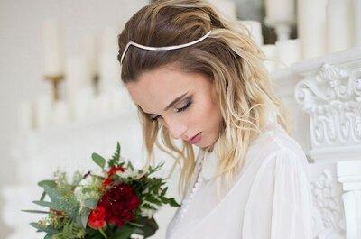 Свадебные украшения 2017: все для идеального образа