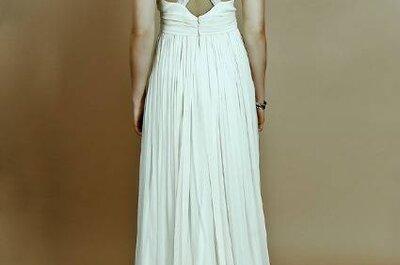 Vestidos de noiva Belle & Bunty: simplicidade e elegância