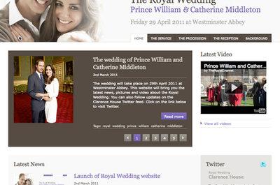 ¿Quieres una web de bodas gratis como ya tienen Kate Middleton y el príncipe Guillermo?