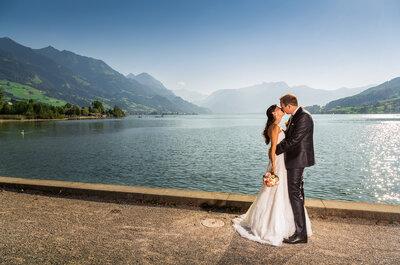 Traumhaftes Ja-Wort in Obwalden – Manuela & Simon heirateten sommerlich im August!
