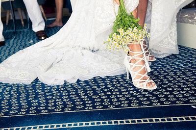 Zapatos y sandalias 'lace up' para novias e invitadas estilosas