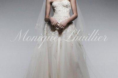 4 consejos de la diseñadora Monique Lhuillier para elegir el vestido de novia