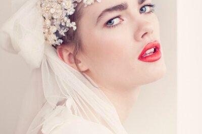 Estilismo para uma noiva vintage chic