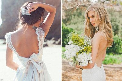 Trend sposa 2015: galateo di stile per la schiena nuda