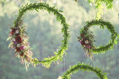 Decora il tuo matrimonio con il verde Greenery: ecco i consigli delle esperte