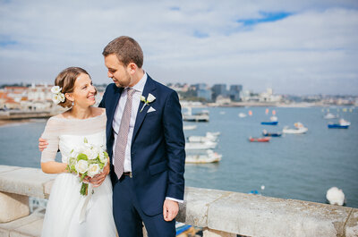 Destination Wedding Portugal na Villa de Sao Paulo: da fria Polónia ao cálido Cascais!