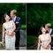 Noivas de vestidos curtos. Foto: Kristin Speed