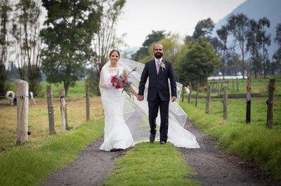 Daniela y Santiago: un día lleno de felicidad y mucho, mucho amor