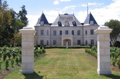 7 châteaux en Gironde pour un mariage de conte de fée
