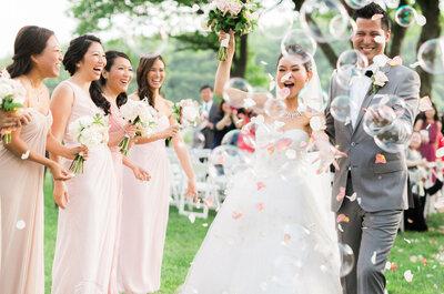 Planea tu boda en sólo 6 meses con estos 15 pasos efectivos: Que tu sueño no tenga límite