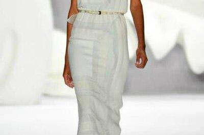 Vestido de noiva simple-chic? Que tal esta ideia de Carolina Herrera?