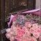 Somptueux bouquet de roses.