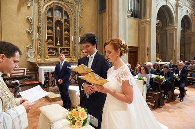 Il matrimonio di Simona e Paolo, un arcobaleno traboccante d'amore!