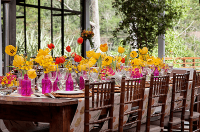 Como escolher as cores para a decoração do seu casamento: todas as dicas!