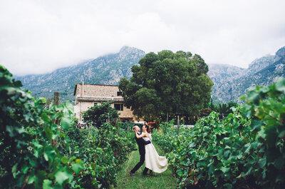 Los 10 mejores fotógrafos de boda de Mallorca