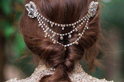Penteados de noiva com