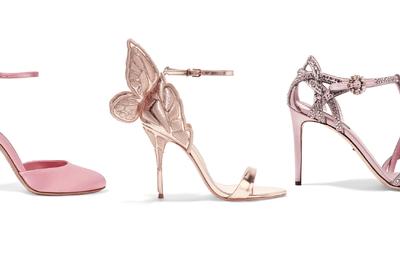 Think Pink: Zapatos de novia en color rosa que ¡te quitarán el sueño!