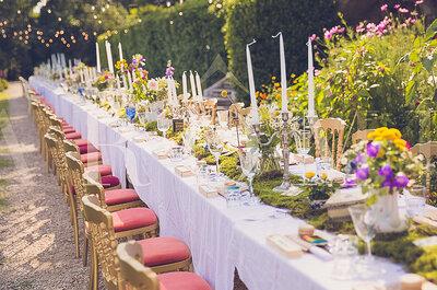 Décoration de mariage 2017 : 5 thématiques qui vont vous faire craquer