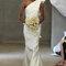 Carolina Herrrera – Vestido de novia de un solo hombro. Primavera 2013