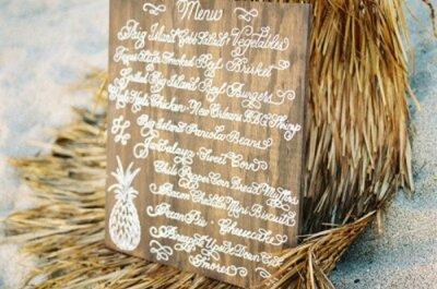 Profumo di mare… Dettagli marini, per un matrimonio in spiaggia