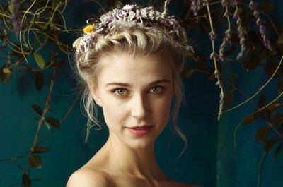 Trenzas para tu peinado de novia