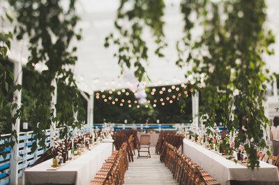 Хлопковая свадьба Кати и Вадима: незабываемое лето