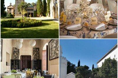 Los 12 lugares más bonitos para celebrar una boda en Sevilla