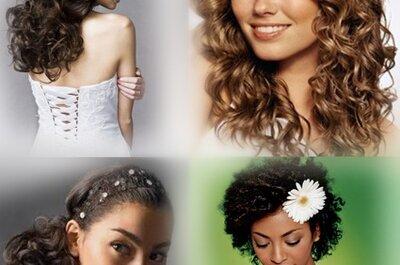 Brautfrisur mit Locken Trends 2011