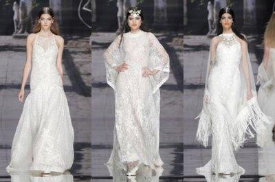 Vestidos de novia Yolan Cris 2015 en la Barcelona Bridal Week