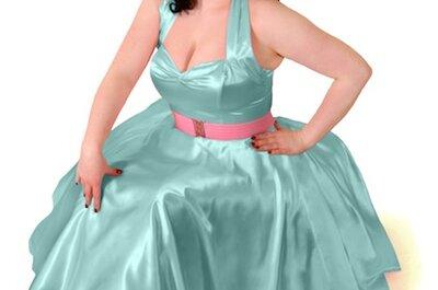 Vestidos vintage para invitadas a una boda