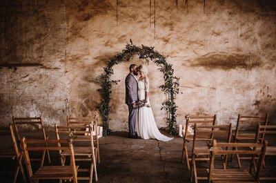 Como fazer um casamento Minimalista: o menos é mais!