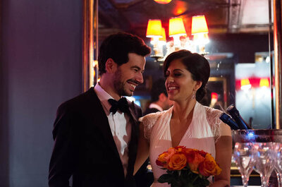 Maneka et Meena : deux comédiens venus tout droit de Los Angeles pour célèbrer leur mariage à Paris !
