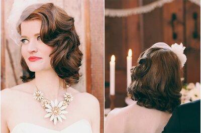 Las tendencias que tanto esperabas: Peinados y accesorios para novia 2015