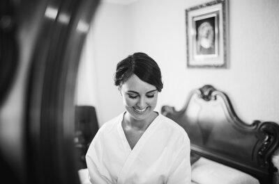 ¿Guapa y cómoda en las fotos previas a tu boda? ¡Se puede!