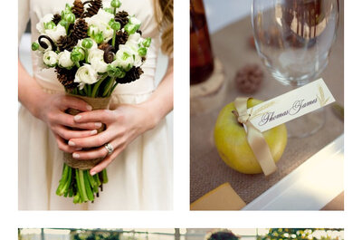 Embrace the cooler season with bright and cheerful Autumn wedding styling inspiration