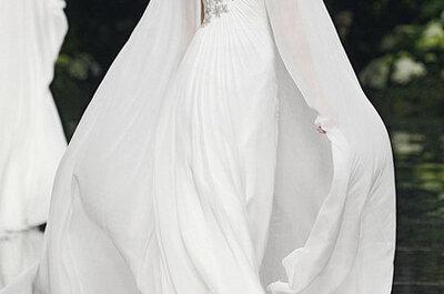 Vestidos de novia ultrafemeninos de Pronovias - Otoño 2013