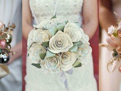 Non ti piacciono i bouquet di fiori freschi? Ecco 5 alternative che ti conquisteranno