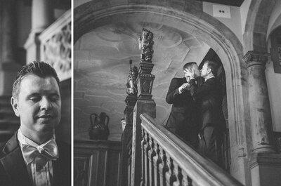 Gleichgeschlechtliche Liebe: Tommy & Chad heirateten im Schlosshotel Kronberg