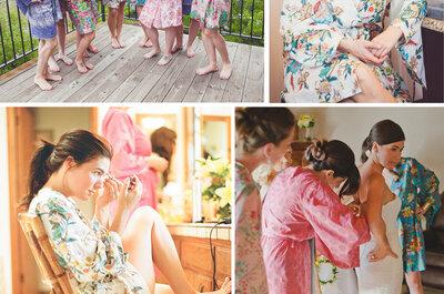 Bata de novia para tu sesión de fotos