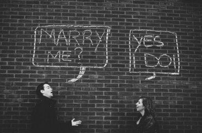 Wees niet bang voor de camera: alles over de verlovingsshoot
