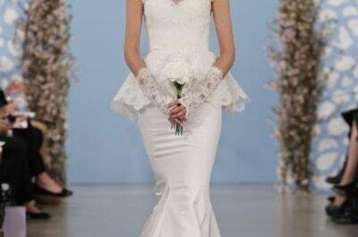 Suknia ślubna z baskinką, czyli jak uzyskać efekt