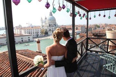 Hotel per matrimoni a Venezia: nessuna è come la Laguna!