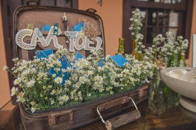 Decoração de casamento DIY: reutilize objetos de casa e personalize o seu grande dia!