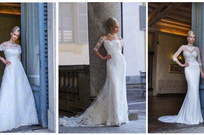 La sposa diventa regina nel suo grande giorno con gli abiti di Galvan Sposa