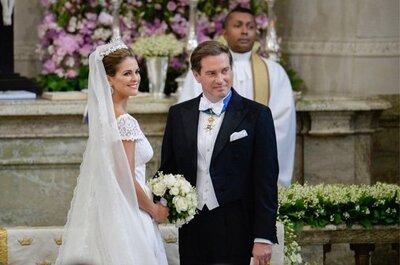 Le look de mariée de Magdeleine de Suède