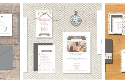 Faire-part élégant et personnalisé: les nouvelles collections contemporaines de l'Art du Papier