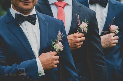 Hoe kies ik mijn bruidspak? De beste tips om ook de bruidegom te laten stralen!