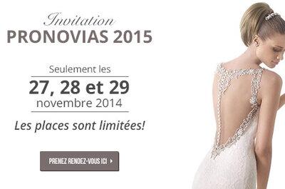 Prix des robes de Pronovias pour 2014