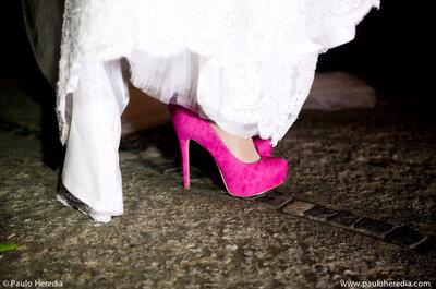 Una selezione di scarpe da sposa da sogno