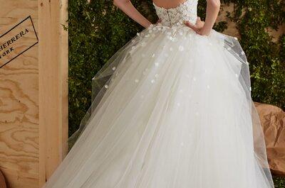 Vestidos de noiva Carolina Herrera 2017: romanticismo e elegância em modelos requintados